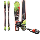 K2 A.M.P. Rictor Skis + Rossignol Axial2 World Cup 120 MFX Ski Bindings