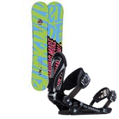 Ride Buckwild Snowboard 2014 + Ride EX Snowboard Bindings 2014