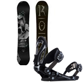Rome Artifact Rocker Snowboard + Ride EX Snowboard Bindings 2014
