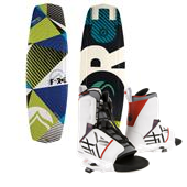 Liquid Force Witness Grind Wakeboard + Transit Bindings 2012