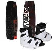 Ronix Vault Wakeboard + District Bindings 2012