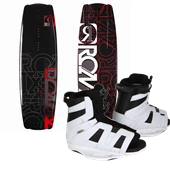 Ronix Vault Wakeboard - Blem + District Bindings 2012