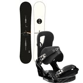 Burton Whammy Bar Snowboard + Cartel EST Bindings 2013