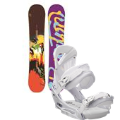 Burton Lip-Stick Snowboard + Lexa EST Bindings - Women's 2013