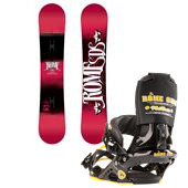 Rome Garage Rocker Snowboard + Mob Boss Bindings 2013