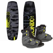 Ronix District Wakeboard + District Bindings