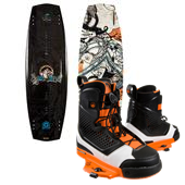 Liquid Force Super Trip Wakeboard + Ultra CT Bindings 2013