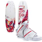 CWB Lotus Wakeboard + Bliss Bindings - Women's 2013