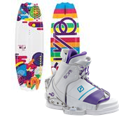 CWB Bella Wakeboard + Lulu Bindings - Girl's 2013