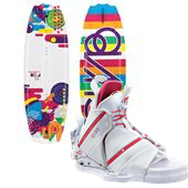 CWB Bella Wakeboard + Bliss Bindings - Girl's 2013
