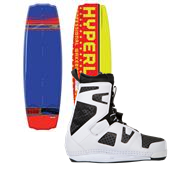 Hyperlite B-Side Wakeboard + Team CT Bindings 2013