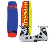 Hyperlite B-Side Wakeboard + Team OT Bindings 2013