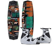 Hyperlite Clash Wakeboard + Team OT Bindings 2013