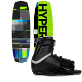 Hyperlite Forefront Wakeboard + Focus Bindings 2013