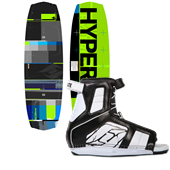 Hyperlite Forefront Wakeboard + Remix Bindings 2013