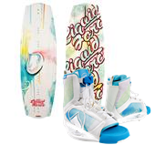 Liquid Force Angel Wakeboard + Plush Bindings - Women's 2013