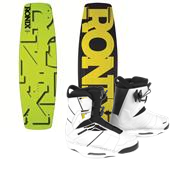 Ronix Phoenix Project S Wakeboard + Preston Bindings