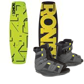 Ronix Phoenix Project S Wakeboard + District Bindings