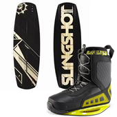 Slingshot Whip Wakeboard + RAD Bindings 2013