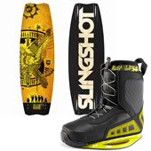 Slingshot Lyman Wakeboard + RAD Bindings 2013