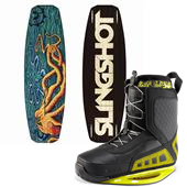 Slingshot Hooke Wakeboard + RAD Bindings 2013