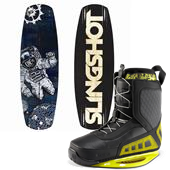 Slingshot Kine Wakeboard + RAD Bindings 2013