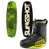 Slingshot Newton Wakeboard + RAD Bindings 2013
