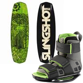 Slingshot Newton Wakeboard + Verdict OT Bindings 2013
