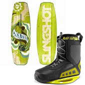 Slingshot Recoil Wakeboard + RAD Bindings 2013