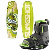 Slingshot Recoil Wakeboard + Verdict OT Bindings 2013