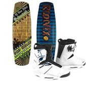 Ronix El Von Videl Schnook Wakeboard + Preston Bindings 2013