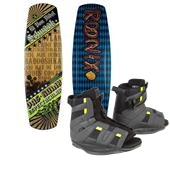 Ronix El Von Videl Schnook Wakeboard + District Bindings 2013
