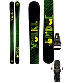 Volkl Bridge Skis + Rossignol Axial2 120 XL Bindings 2013