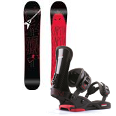 CAPiTA Charlie Slasher Snowboard + Union Charger Bindings 2014