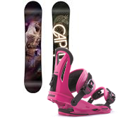 CAPiTA Space Metal Fanatsy Snowboard + Union Rosa Bindings - Women's 2014