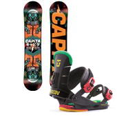 CAPiTA Micro Scope Snowboard + Union Mini Flite Bindings - Kid's 2014