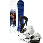 Burton Ripcord Snowboard + Freestyle Bindings 2014