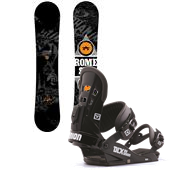 Rome Garage Rocker Snowboard + Union DLX Bindings 2014