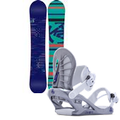 K2 First Lite Snowboard + Charm Bindings - Women's 2014