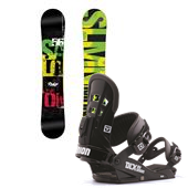 Salomon Pulse Snowboard + Union DLX Bindings 2014