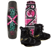 Ronix Quarter 'Til Midnight Wakeboard + Faith Hope Love Bindings - Women's 2014