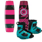 Ronix Krush Wakeboard + Halo Bindings - Women's 2014