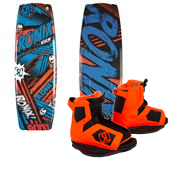 Ronix Vision Wakeboard + Vision Bindings - Boy's 2014