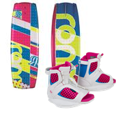 Ronix August Wakeboard + August Bindings - Girl's 2014