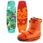 Slingshot Shredtown Wakeboard + Shredtown Wakeboard Bindings 2014