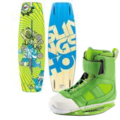 Slingshot Oli Wakeboard + RAD Wakeboard Bindings 2014