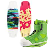 Slingshot Windsor Wakeboard + RAD Wakeboard Bindings 2014