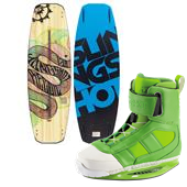 Slingshot Recoil Wakeboard + RAD Wakeboard Bindings 2014