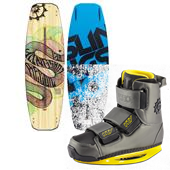 Slingshot Recoil Wakeboard + KTV Wakeboard Bindings 2014