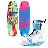 Slingshot Pearl Wakeboard + Jewel Wakeboard Bindings - Women's 2014